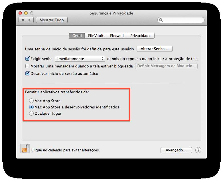 Saiba como proteger seu Mac de aplicativos maliciosos