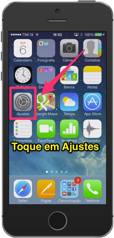Como alterar o ID Apple no iPad e iPhone