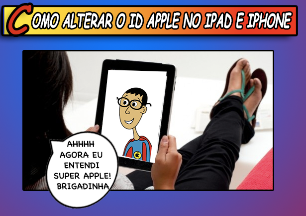 Como-alterar-o-ID-Apple-no-iPad-e-iPhone
