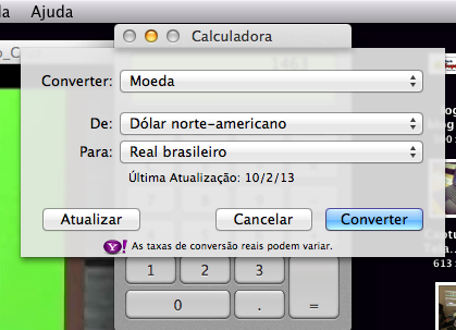 Calculadora do Mac OS X