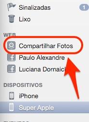 Como transferir fotos tiradas no iPhone para o Mac