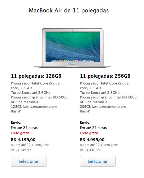 Como escolher um notebook Apple