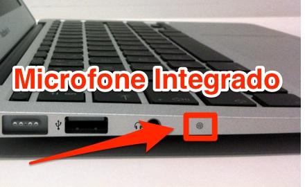microfone macbook
