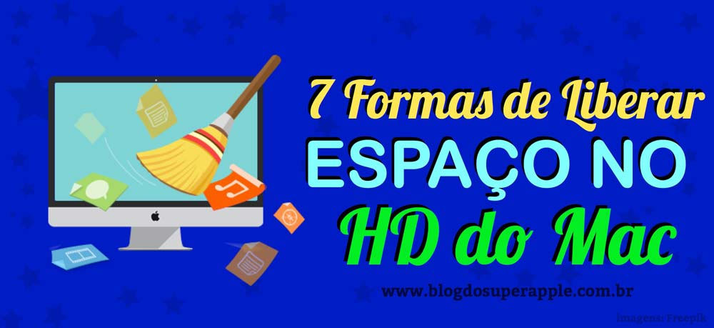 7 Formas de Liberar Espaço no HD do Macbook e iMac
