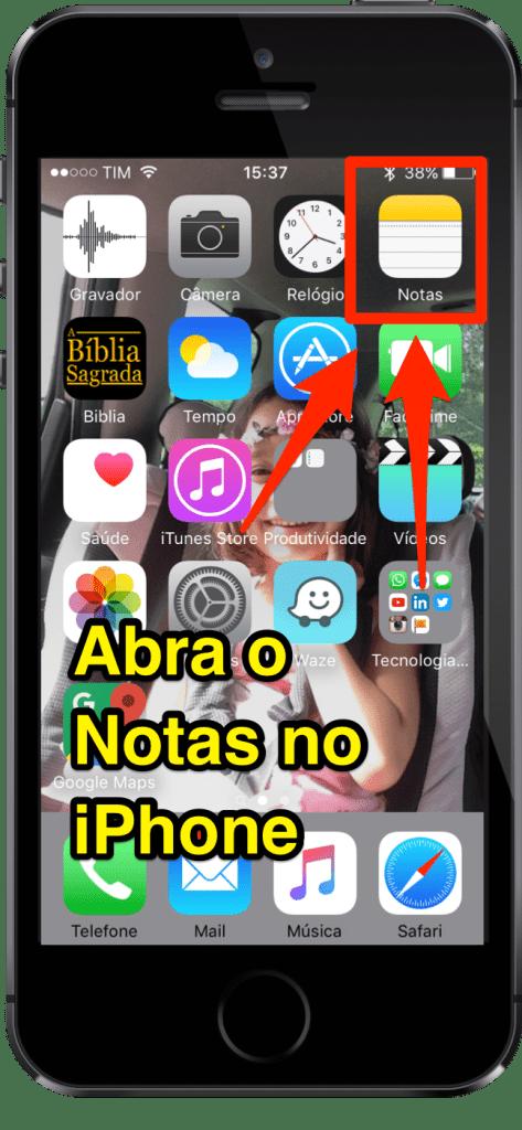 [Super Dica] Aprenda Como Inserir Senhas em Notas do iPhone - 1