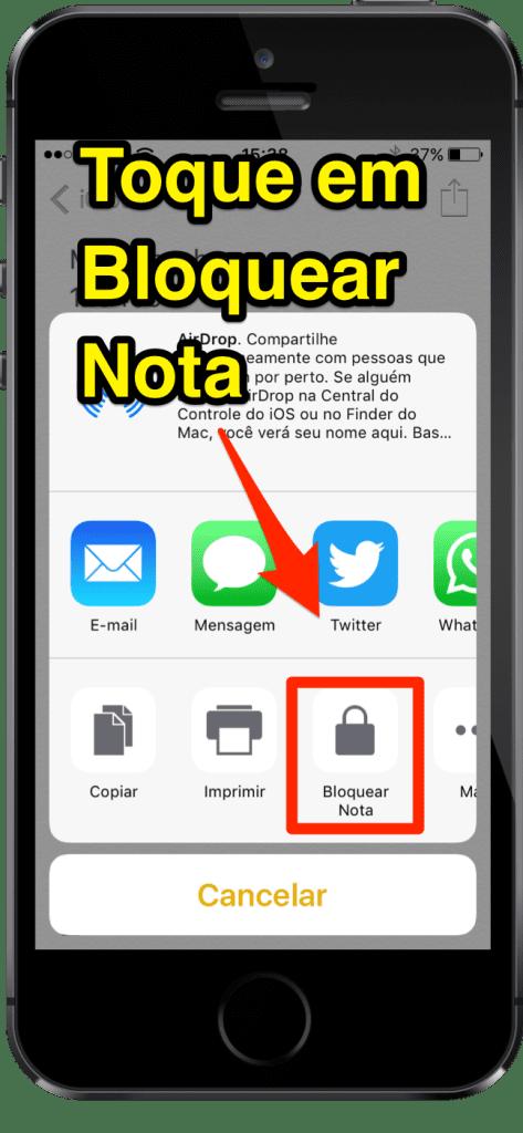 [Super Dica] Aprenda Como Inserir Senhas em Notas do iPhone - 3