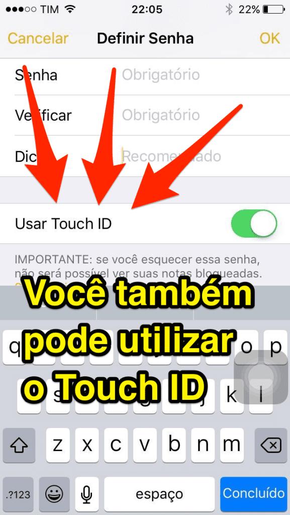 [Super Dica] Aprenda Como Inserir Senhas em Notas do iPhone - 5