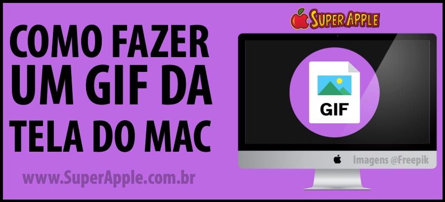 Como Fazer um GIF da Tela do Mac