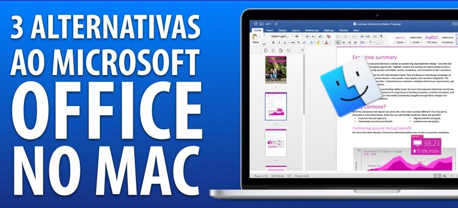 3 Alternativas Gratuitas ao Microsoft Office no Mac